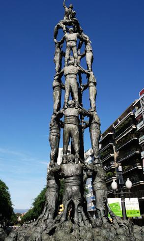 Памятник «El Monument als castellers»