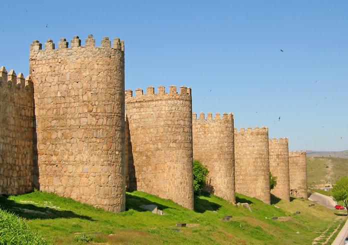 Крепостные городские стены