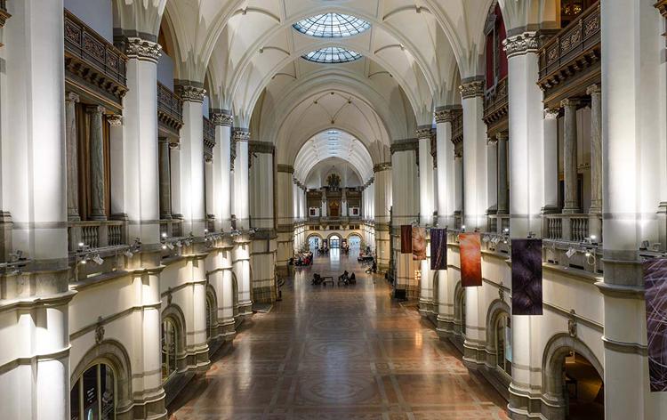 Внутри музея северных стран