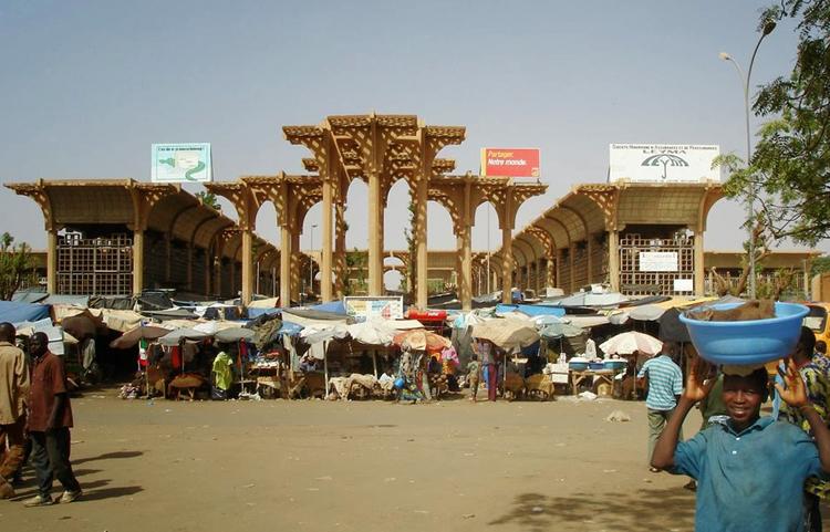 Великий рынок Ниамей