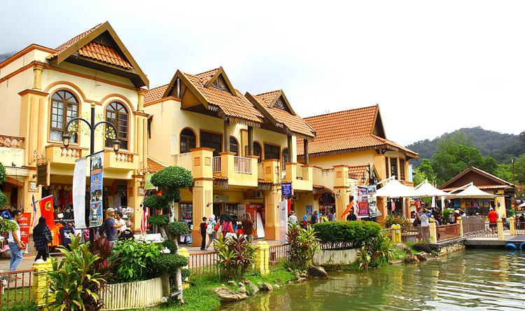 Восточная деревня