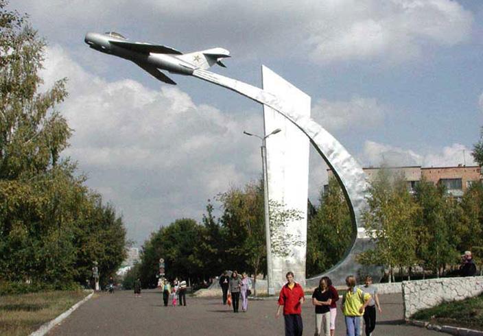 Памятник «МиГ-17Ф»