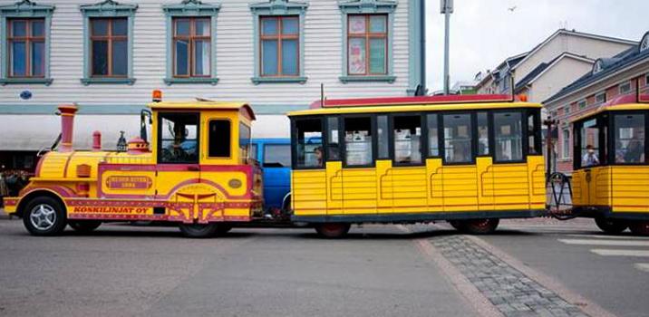 Городской паровозик