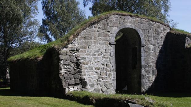 Руины церкви святого Олава