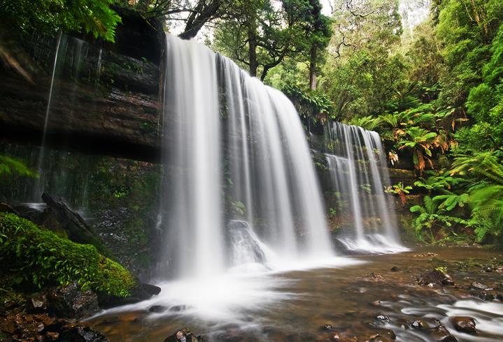 Водопад «Рассел»
