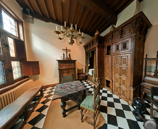 Внутри музея Ламберта ван Меертана