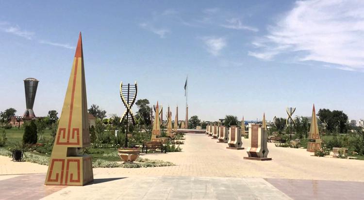 Шымкентский «Парк Независимости»