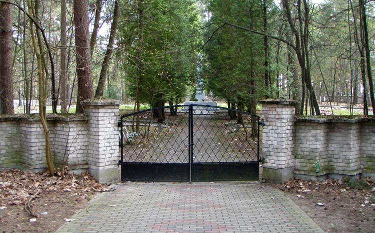 Кладбище советских солдат