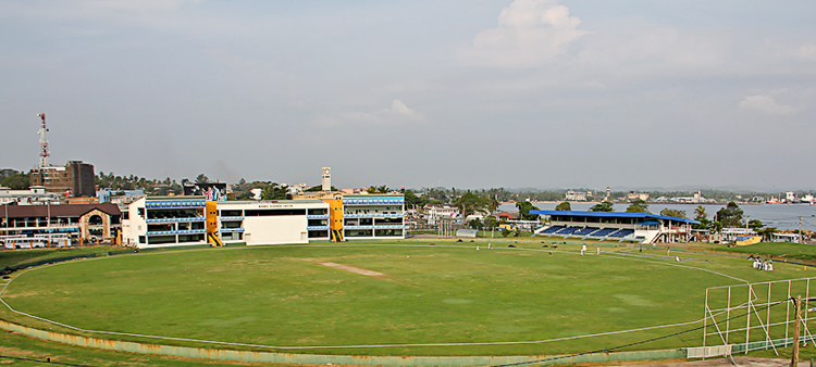 Международный стадион по крикету в Галле