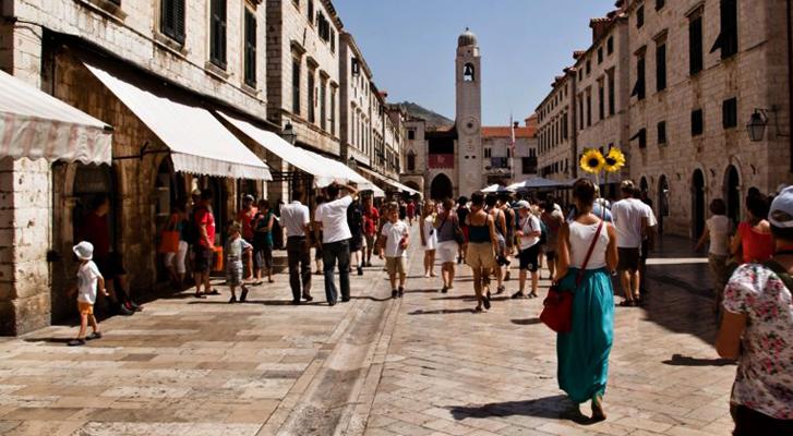 Улица Страдун Дубровник