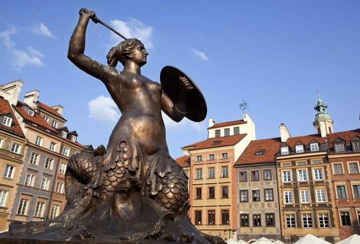 Статуя Сирены