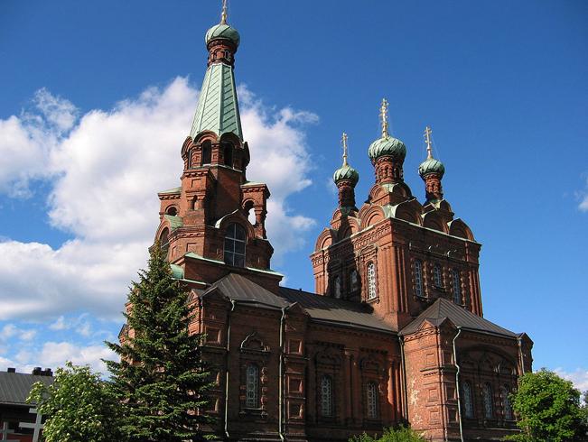 Церковь святого Александра Невского и святителя Николая