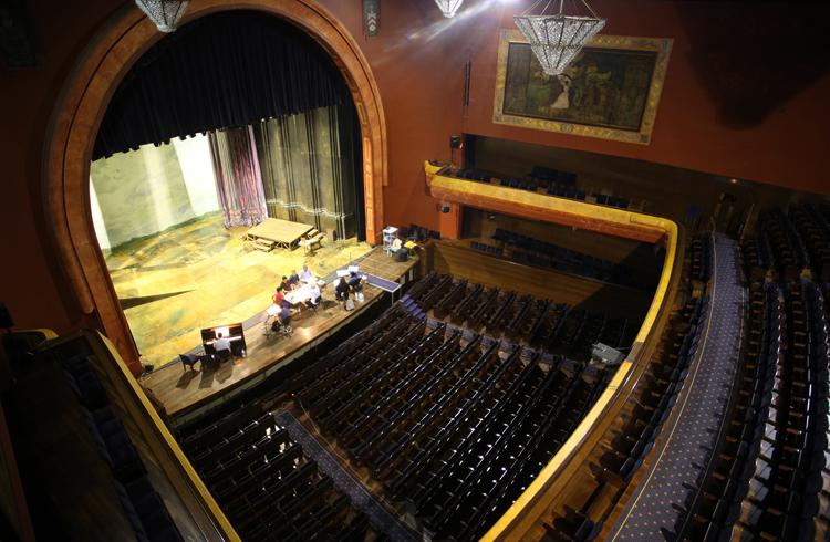 Внутри театра Вильямарта