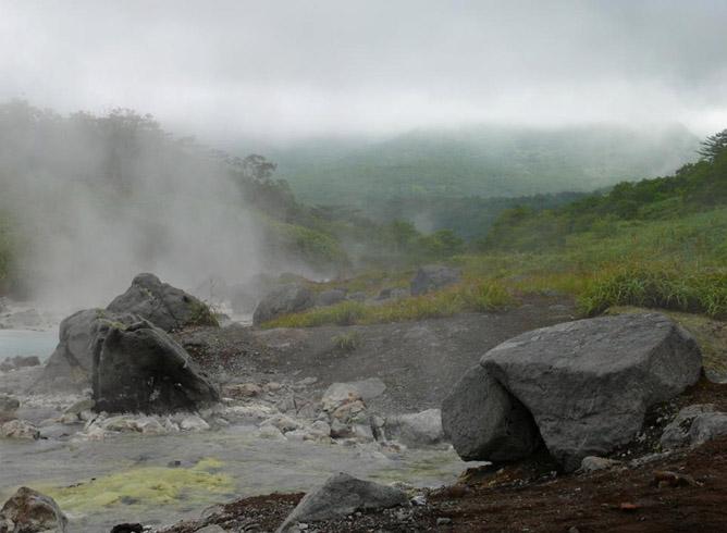 Термальные воды вулкана Баранский