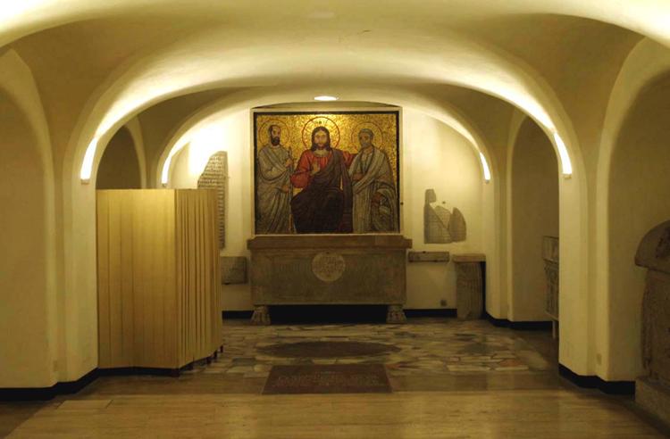 Священные гроты Ватикана