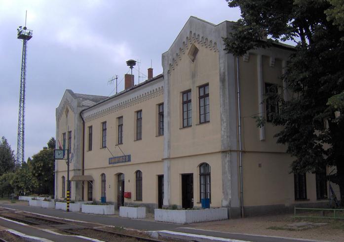 Железнодорожная станция Бихаркерестеш