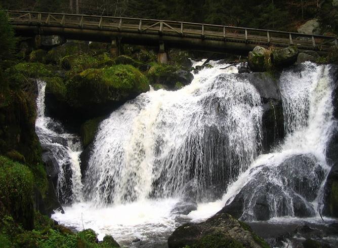 Водопад Триберг