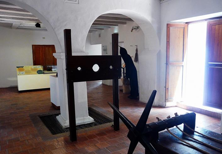 В музее инквизиции