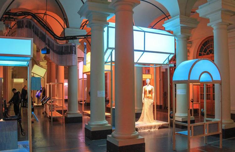 Внутри музея Нобеля