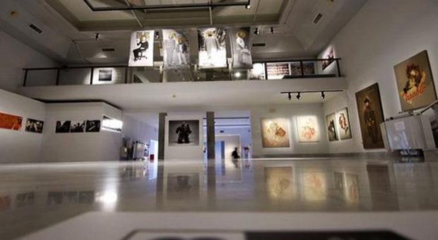 Внутри музея фотографий