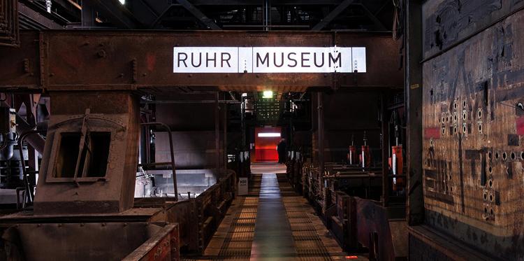 Внутри музея Рур
