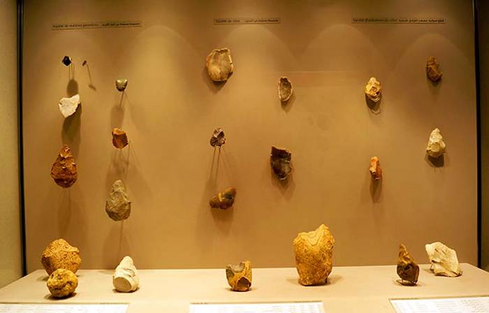 Внутри музея древней истории