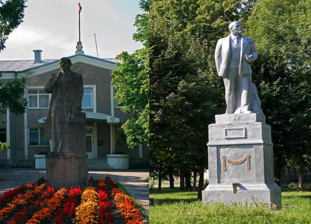 Памятники Ленину В.И.