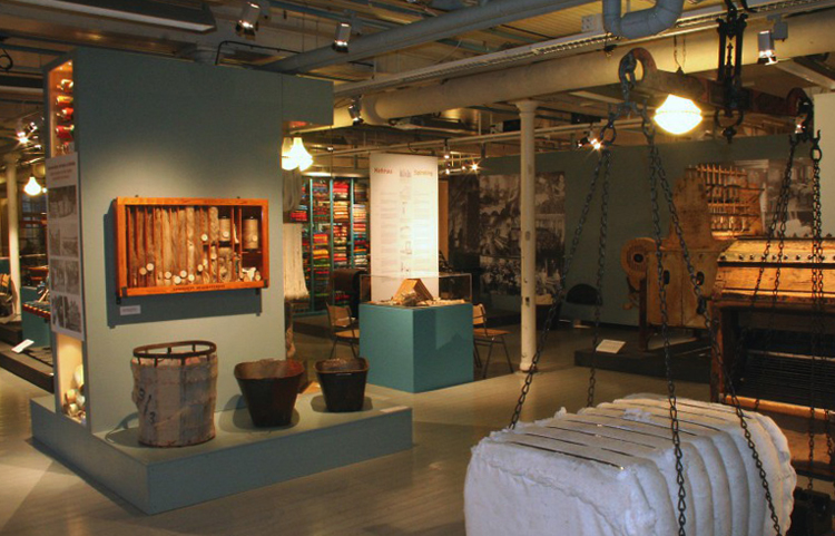 Внутри рабочего музея