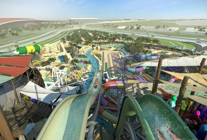 Аквапарк «Yas Water World»