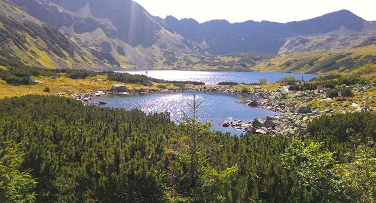 Заднее озеро долины Пяти Озер