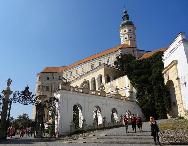 Замок Дитрихштейн