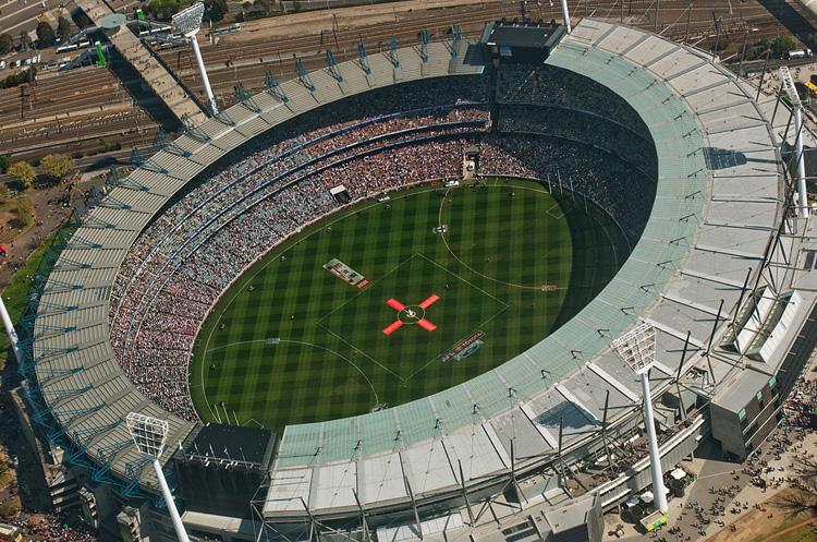 Городской стадион для крикета