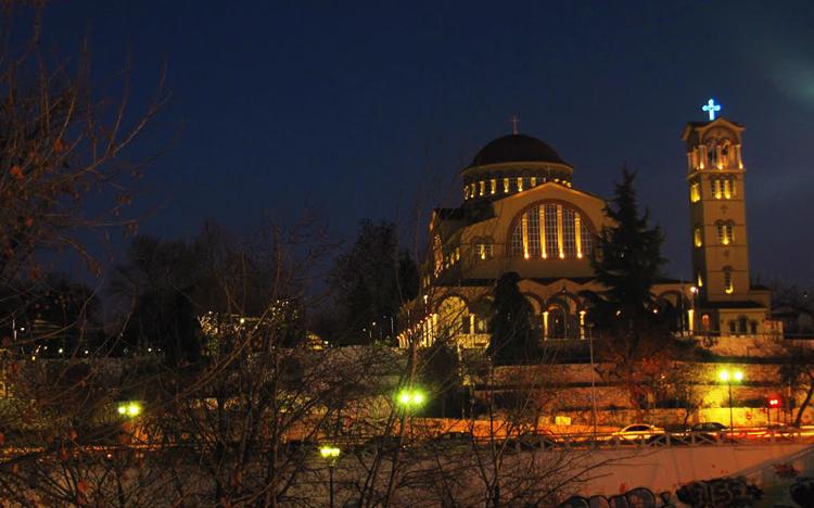 Современный храм святого Ахиллеса