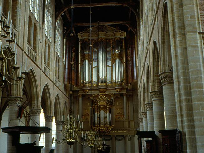 Внутри собора Святого Лаврентия