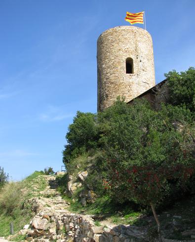 Башня сторожевая в замке Сан Жуан