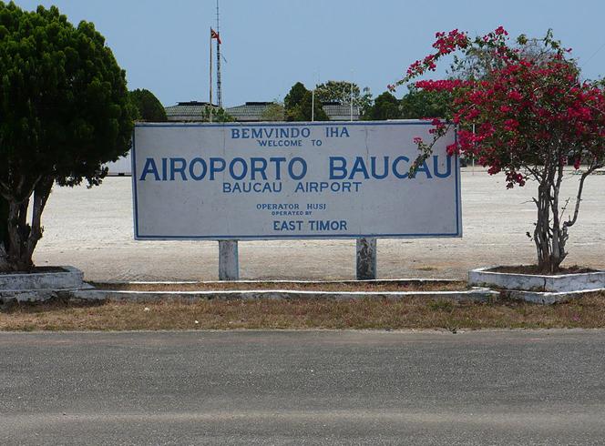 Военный аэропорт Баукау