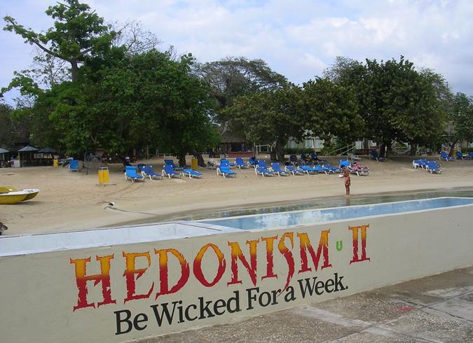 Нудистский курорт «Гедонизм»