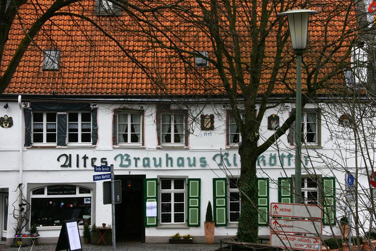 Пивоваренный дом «Altes Brauhaus Rietkotter»