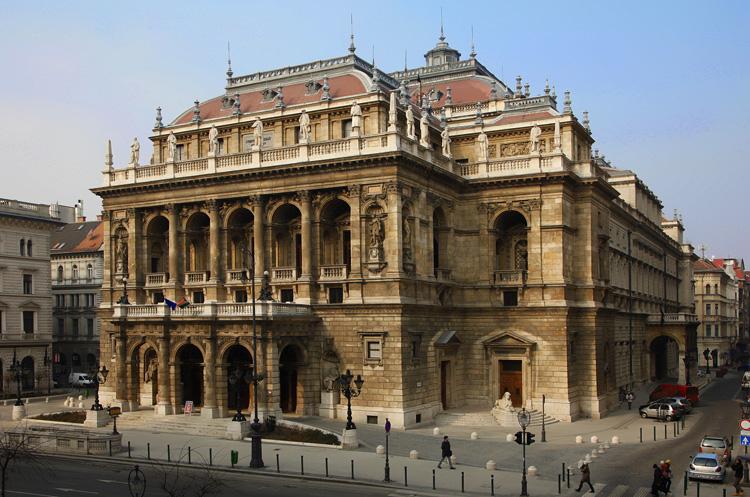 Оперный театр в Будапеште