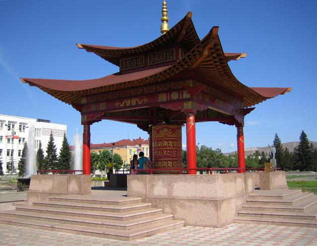 Буддийский молитвенный барабан