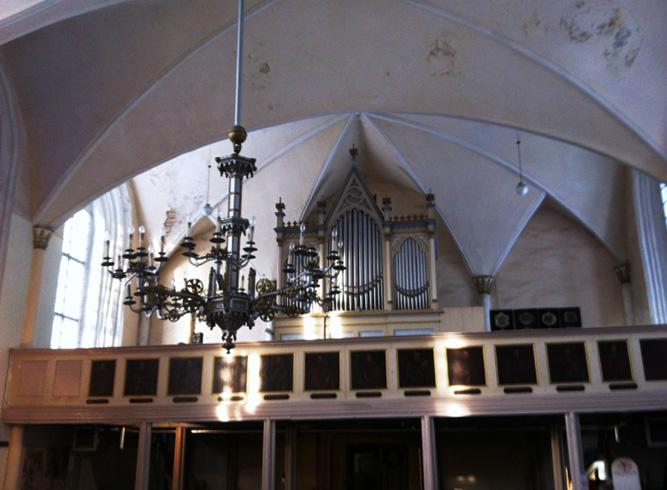 Лиелстраупская церковь