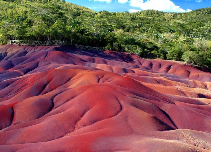 Волшебство цветных песков