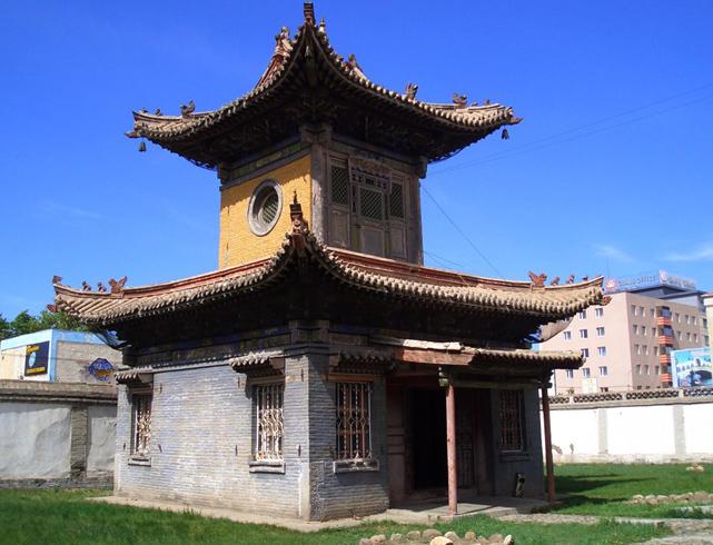 Храм Чойжин-ламы
