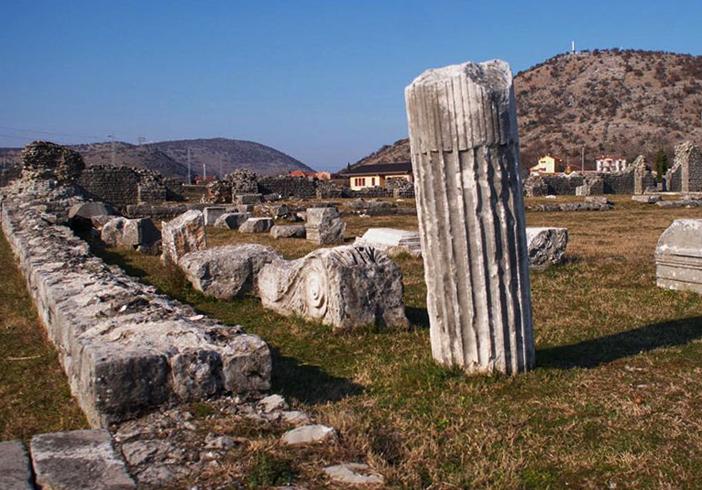 Древний город Диоклея
