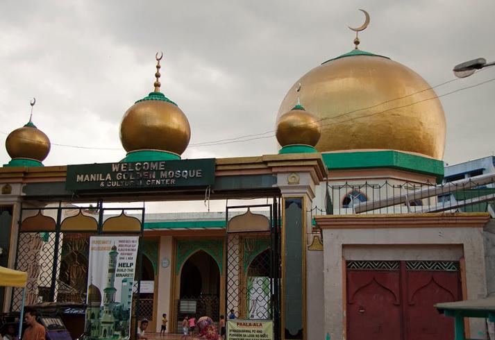 Золотая мечеть Масхид-аль-Дахаб
