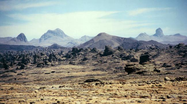 Горное плато Тибес