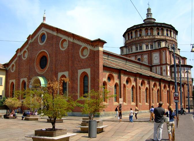 Церковь Санта-Мария делле Грацие