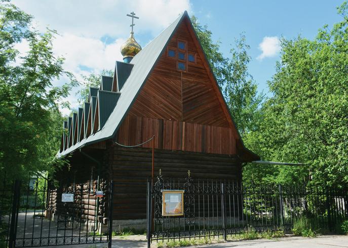 Храм-Часовня Матроны Московской