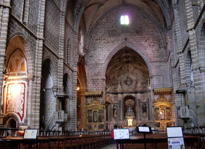Внутри церкви святого Франциска