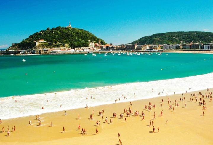 Пляж La Concha